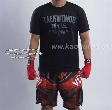 T Shirt Kaos T Shirt Taekwondo jual kaos taekwondo terbaru dan termurah sms wa