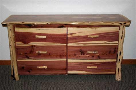 Cedar Dresser by Cedar Juniper 6 Drawer Dresser Barn Wood Furniture