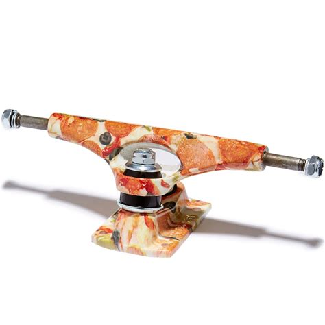 Kaos Skateboard Pizza Premium krux graphic forged skateboard trucks pizza