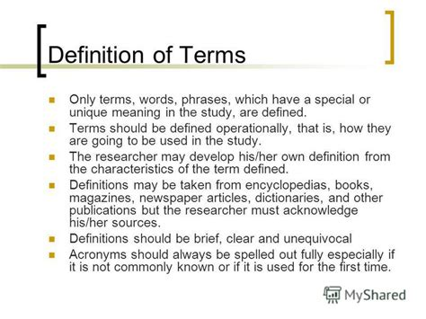 dissertation definition of terms thesis writing definition of terms 187 100 original