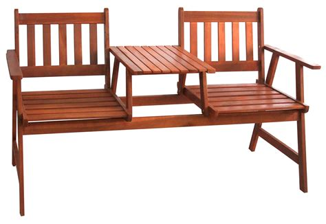 jack and jill bench timber outdoor furniture decoration access