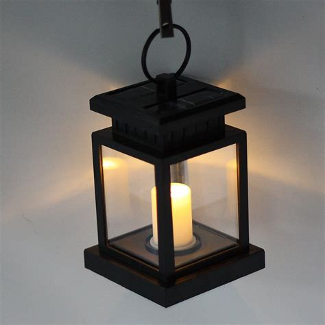 solar powered hanging lights solar powered hanging umbrella lantern candle led light