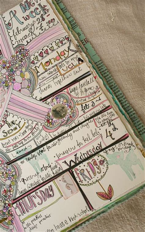 daily doodle inspiration journal pages picmia