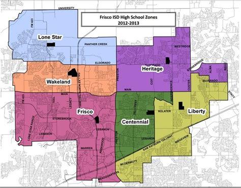 frisco texas zoning map frisco isd rezoning 2015 2016 school year