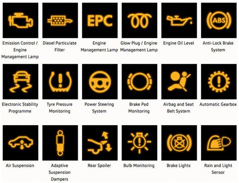 Vw Warning Lights warning lights inchcape