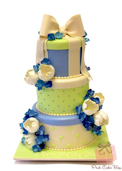 Happy  Ee  Birthday Ee   Cakes Pink Cake Box Custom Cakes More