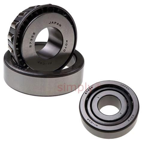 koyo 57355 taper roller bearing 20x52x19 6 simply bearings ltd