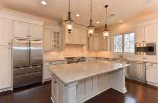 Industrial Style Kitchen Island oakcrest farms model home covington model traditional