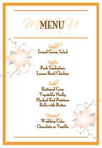 menus for buffet style dinner weddingbee
