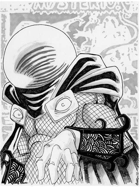 sketch    mysterio  misfitcorner  deviantart