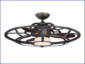 cage enclosed ceiling fans oscillating ceiling fan with light alluring home