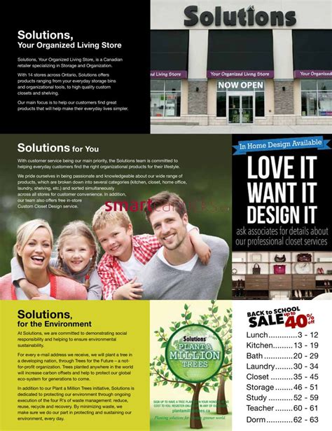 7 Back To School Solutions by Solutions Store Back To School Catalogue 2016