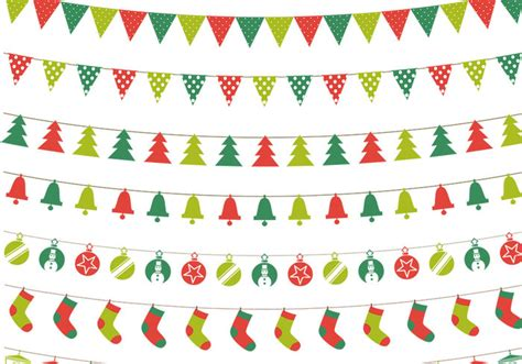 christmas bunting psd pack free photoshop brushes at