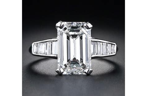 engagement ring emerald cut