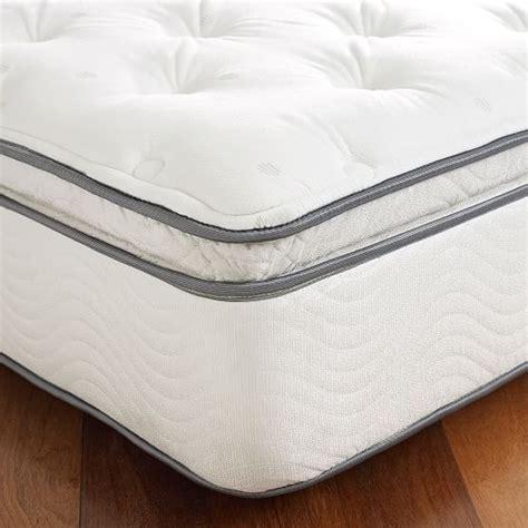 pillow top bedding simmons 174 pbteen plush pillow top mattress pbteen