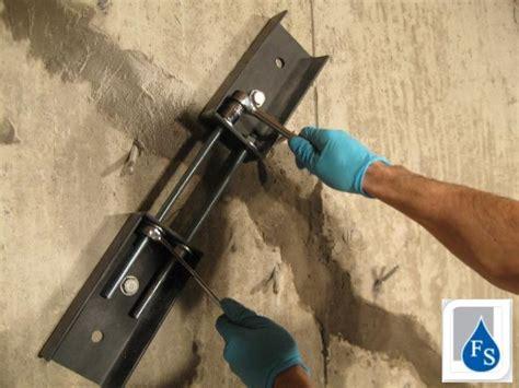 reboucher fissure mur beton r parer la fissure d un mur