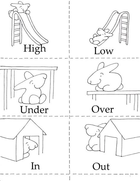 printable opposite cards for preschool free worksheets 187 opposites activities for kindergarten
