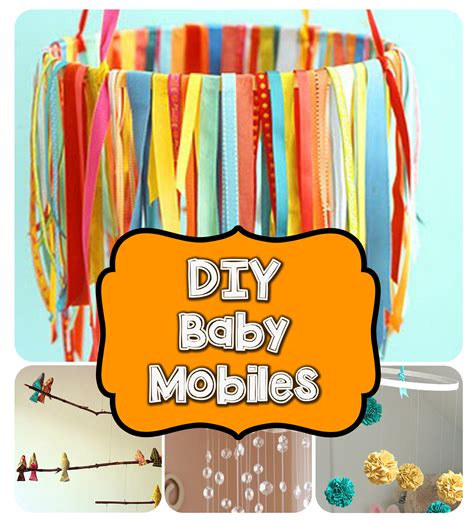 how to make a baby mobile for crib diy baby mobiles