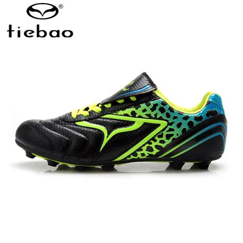 top football shoes tiebao professional outdoor high top football boots soccer