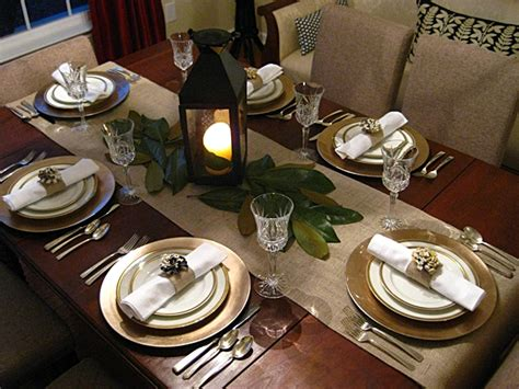 Table Setting Ideas by Eat Sleep Decorate Easy Thanksgiving Table Settings