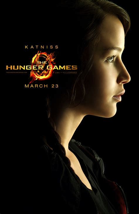 the hunger games character posters collider