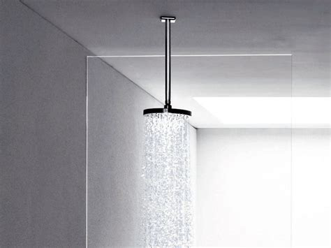 Design Your Own Bathroom faraway ceiling mounted overhead shower by zucchetti