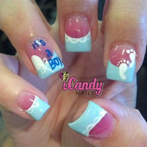 Baby Shower Nails by Baby Shower Nails So Nail Designs