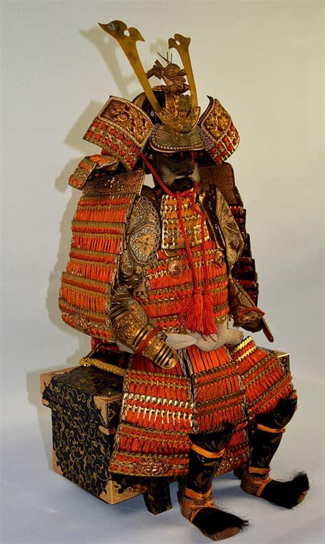 japanese samurai warrior lord armor suit model