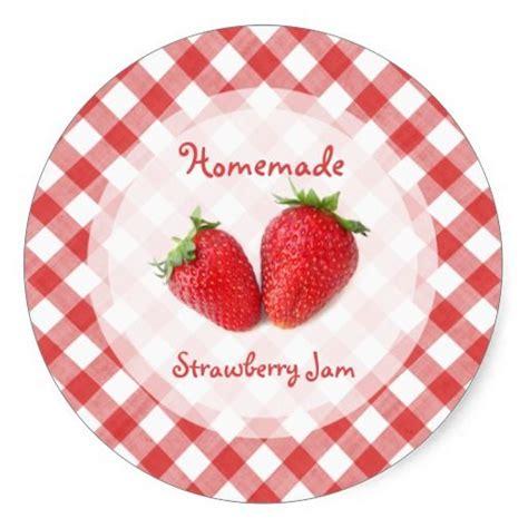 Thermomix Aufkleber Marmelade by Strawberry Jam Sticker In 2018 Denenecek Projeler