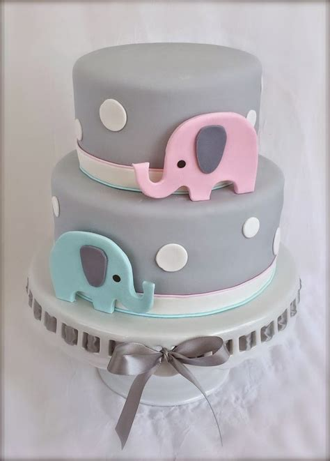 Baby Shower Birthday Cake by Best 25 Baby Elephant Cake Ideas On Elephant