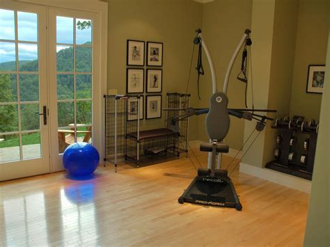 Serene Exercise Rooms Decorating And Design Ideas For