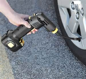 Auto Inflating Tires Automatic Cordless Portable Tire Inflator Gadgetry