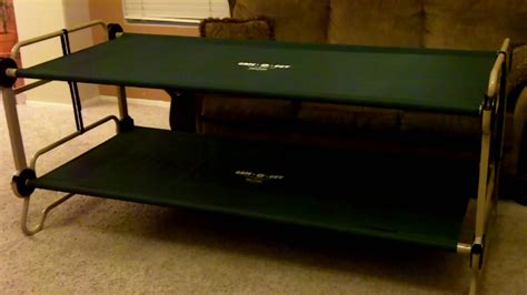 truck bed cot disc o bed cam o bunk sleeping system youtube