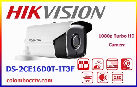 Paket Cctv Smart Exir Turbo Hd Series 1080p 8 In 8 Out ds 2ce16d0t it3f hikvision turbo hd colombo cctv srilanka