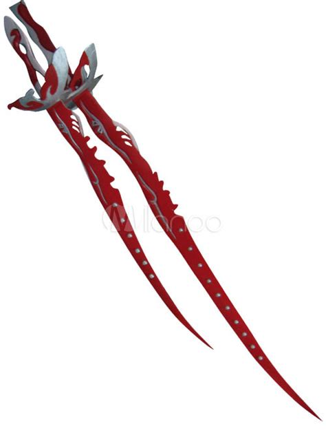 Red Pili Cool Cosplay Weapon   Milanoo.com