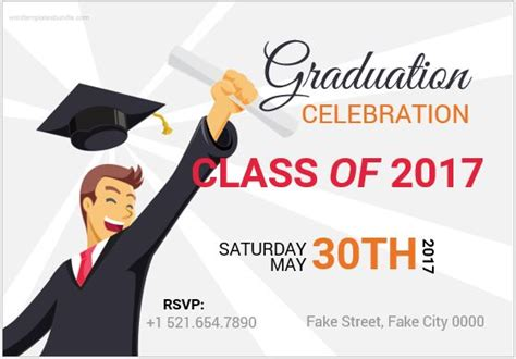 graduation invitation templates microsoft word 10 best graduation invitation card templates ms word