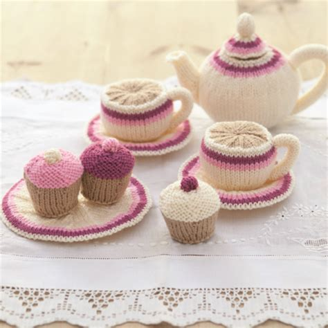 knitted tea set pattern knitted tea set for tea