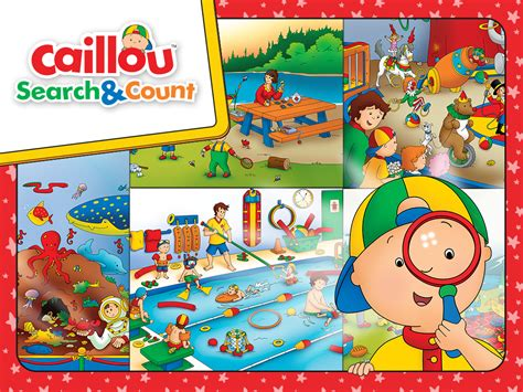 caillou new year celebrate the new year with caillou s educational apps for
