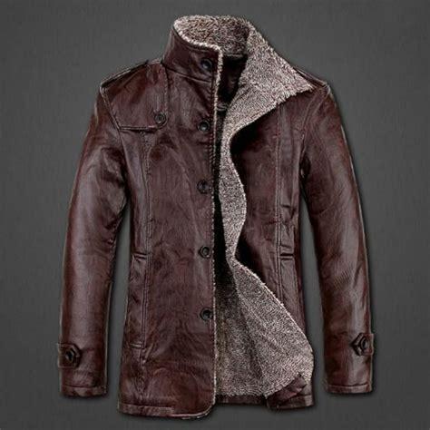 Jaket Kulit Synthentic Leather mens leather winter jackets cairoamani