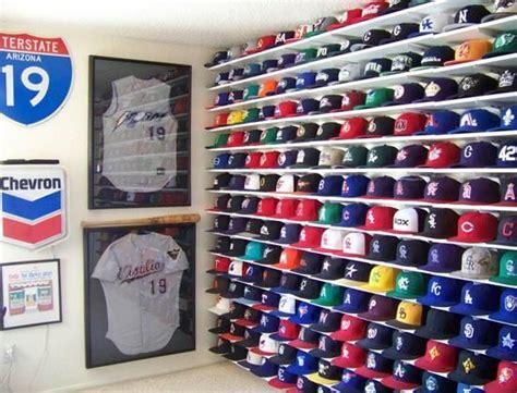 Baseball Cap Wall Display Rack by 25 Best Ideas About Baseball Hat Display On Baseball Cap Rack Hat Racks And