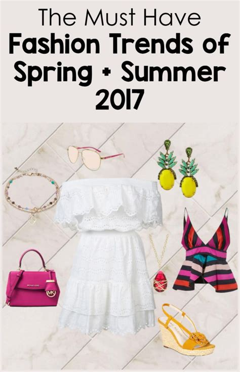 What Think Of Springs Trends by The Top Must Fashion Trends For And Summer 2017