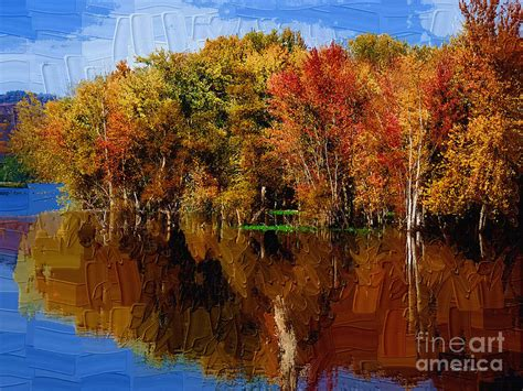 painting delta delta lake reflections painted painting by diane e berry
