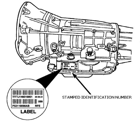 Toyota Gearbox Identification Repair Guides Transmission Identification