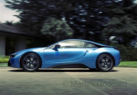 bmw electric supercar bmw i8 electric supercar driving into the inn at