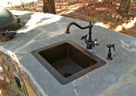 Outdoor Bar Sink With Faucet by 1000 Images About Copper Bar Prep Sinks On
