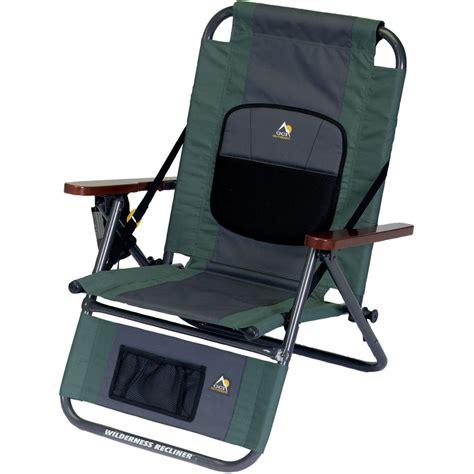 wilderness recliner gci outdoor wilderness recliner hunter green