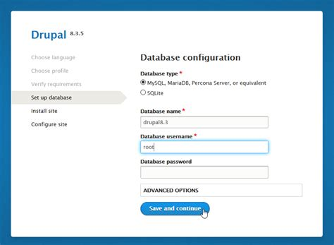 Step By Step Guide On How To Install Drupal 7 And 8 Locally Drupal 8 Page Template For Content Type