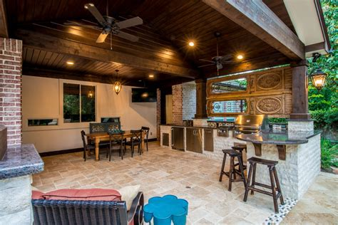 Luxury Outdoor Kitchens by Luxury Outdoor Kitchens Patio Covers Fireplaces