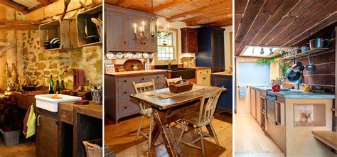 excelentes ideas de como decorar cocinas pequenas rusticas
