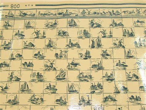 fliesen mit tapete überkleben uralte puppenk 252 chen fliesen tapete mit delftermuster 1910